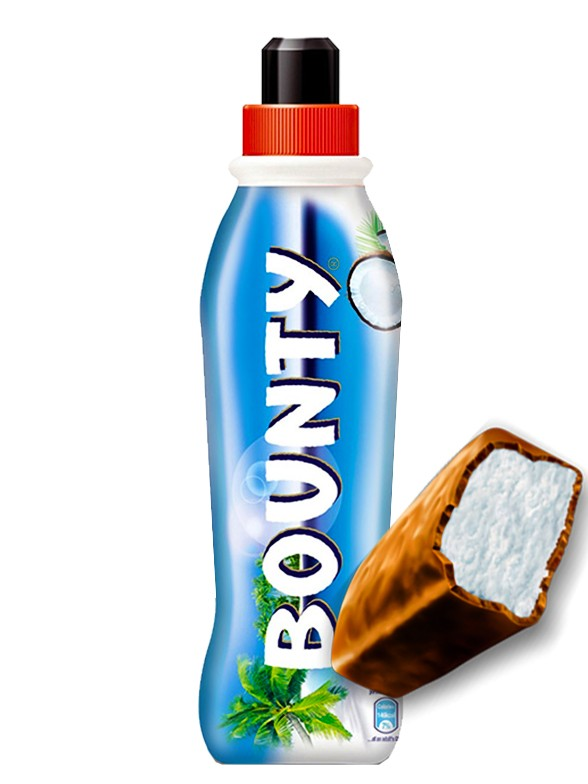Batido de Barrita de Chocolate y Coco Bounty 350 ml.