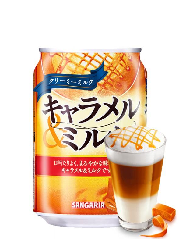 Bebida Latte Caramel 275 grs.