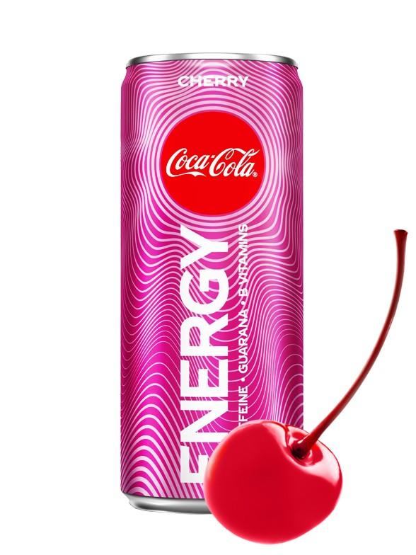Bebida Energetica Coca-Cola Energy Cherry 250 ml.