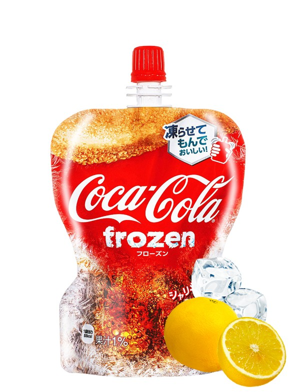 Coca Cola Limón Japonesa Granizada | 125 grs.