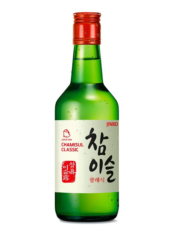 Licor Coreano Soju Chamisul | Classic 350 ml