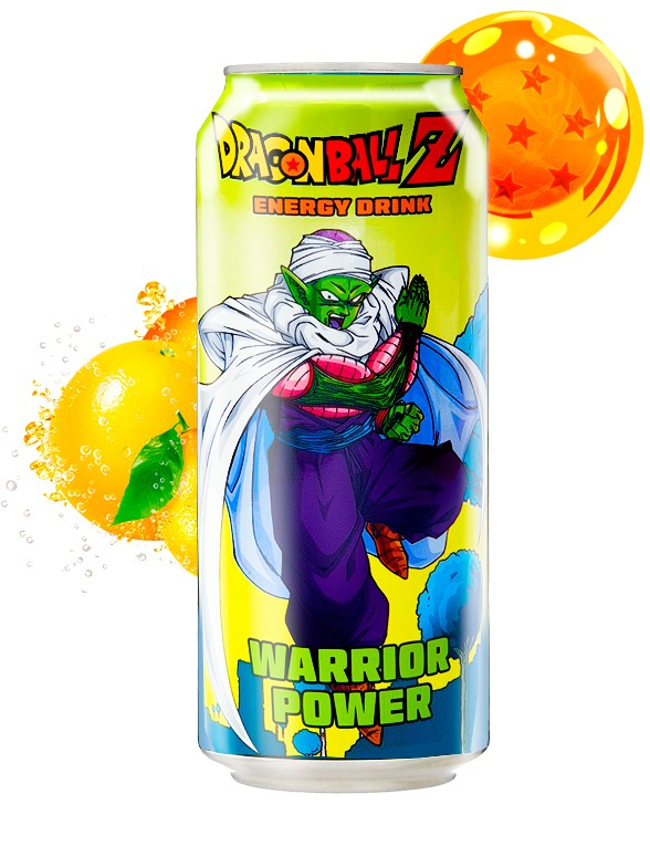 Bebida Energética Dragon Ball Z Warrior Power | Piccolo 355 ml
