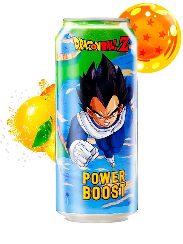Bebida Energética Dragon Ball Z Power Boost | Vegeta 355 ml
