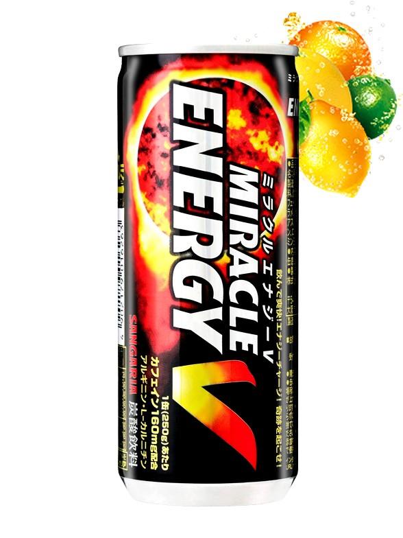 Bebida Energética Miracle V | Original 250 ml