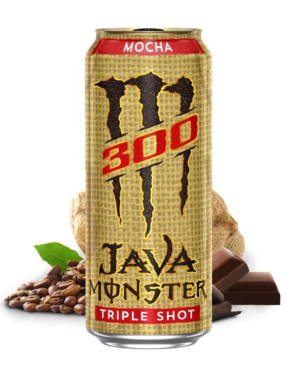 Bebida Energética Monster Café Java Moca Triple Shot   USA 443 ml.