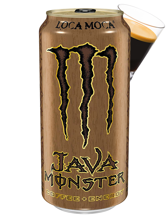 Bebida Energética con Café Monster Java Loca Moca | USA 443 ml.
