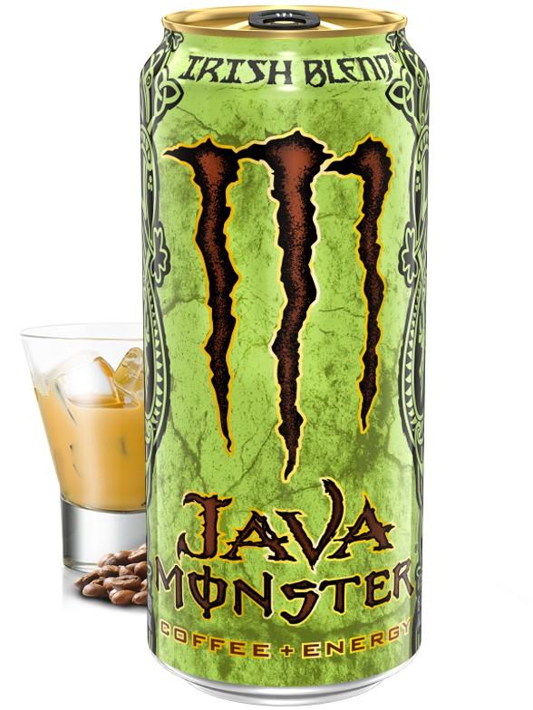 Bebida Energética Monster Java Irish Blend   USA 443 ml