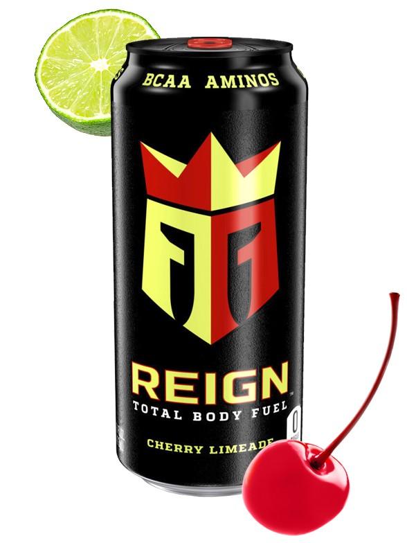 "Bebida Energética Reign ""Limanada"" / Lima y Cereza | USA 473 ml."