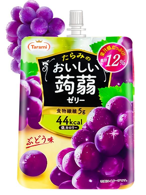 Bebida de Gelatina Konjac y Uva Japonesa 150 grs