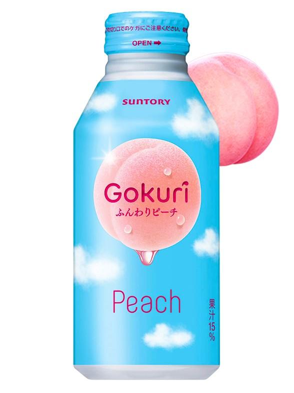 Bebida de Zumo de Melocotón Rosado Japonés Momo | Gokuri 400 grs.
