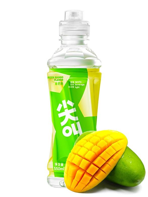Bebida Isotónica Scream Mango Verde 550 ml | Pedido GRATIS!