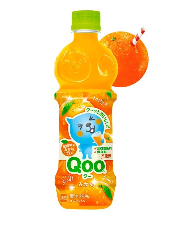 Bebida de Zumo de Naranja Japonesa | Qoo 470 ml | Pedido GRATIS!