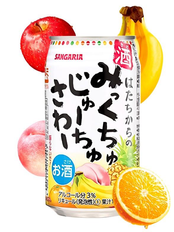 Bebida Licor Chu-Hi de Frutas 350 ml