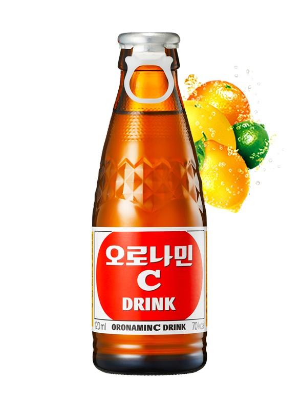 Bebida Energética Oronamin C Drink Fresh   Edición Coreana 120 ml