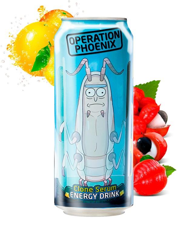 Bebida Energética Rick & Morty Operation Phoenix 355 ml