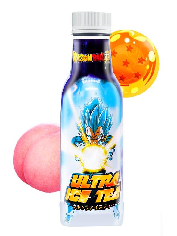 Té Helado de Melocotón DBZ Ultra   Vegeta 500 ml
