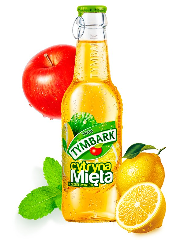 Bebida de Manzana, Limón y Menta 250 ml
