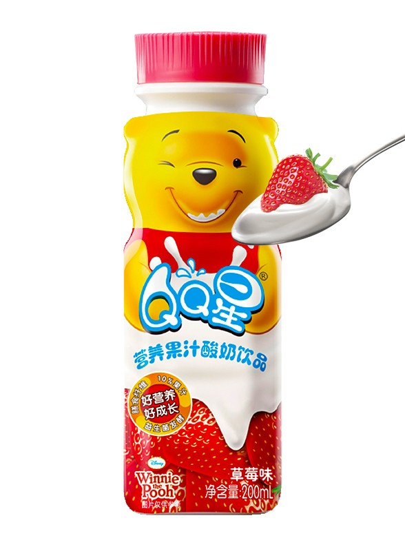 Batido de Fresa Winnie the Pooh 200ml.   Pedido GRATIS!