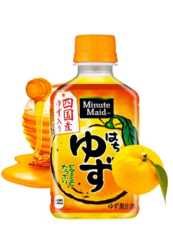 Bebida de Yuzu con Miel | Minute Maid 280 ml.