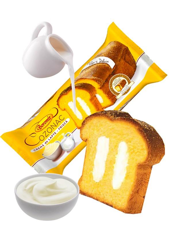 Bizcocho relleno de Crema de Nata 450 grs | Pedido GRATIS!
