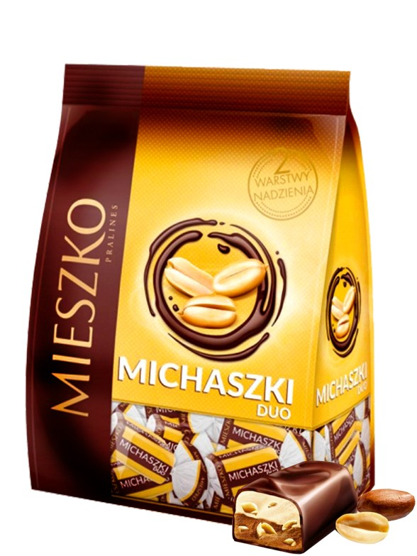 Bombones de Cacahuete con Chocolate Negro 260 grs.