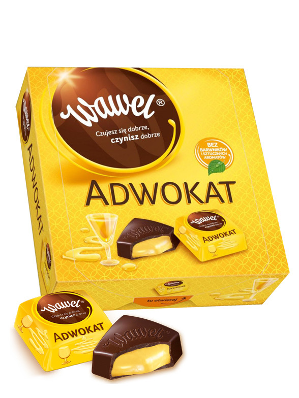 Bombones de Crema de Licor Adwokat 430 grs | Pedido GRATIS!
