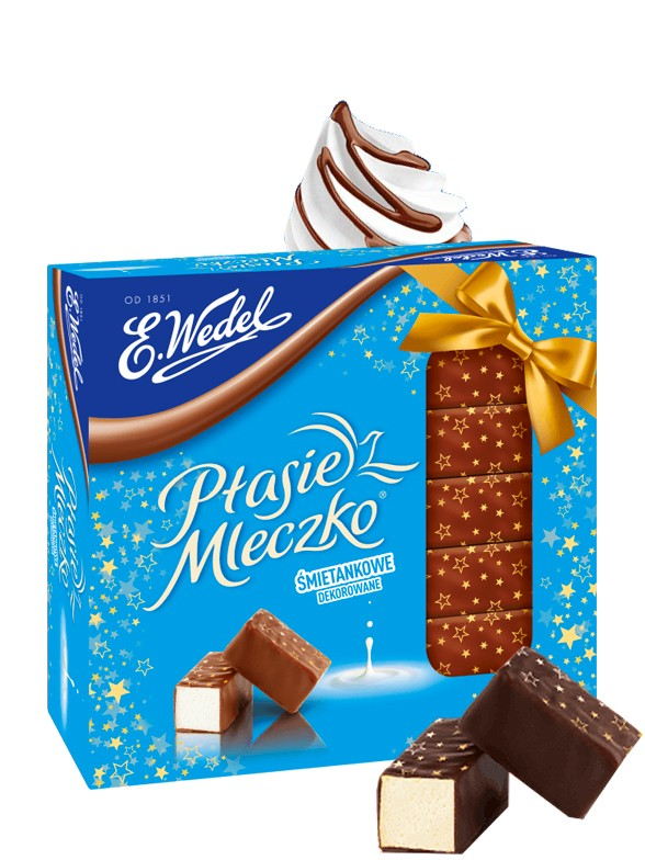 Bombones de Chocolate y relleno de Marshmallow Nata 380 grs