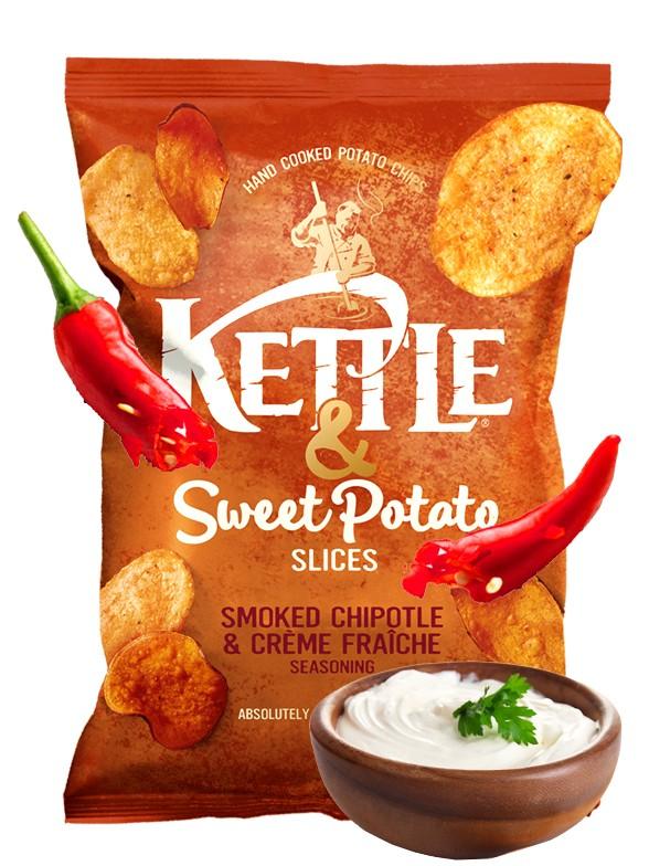 Patatas y Chips de Boniato con sabor Chipotle y Crema de Queso 100 grs. | Pedido GRATIS!