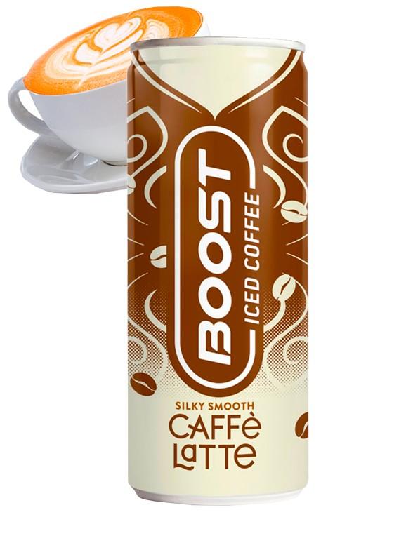 Caffe Latte Boost | Iced Coffee 250 ml.
