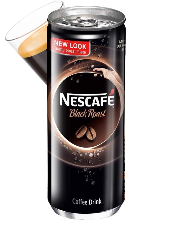 Café Black Roast Intenso   Nescafé 250 ml.