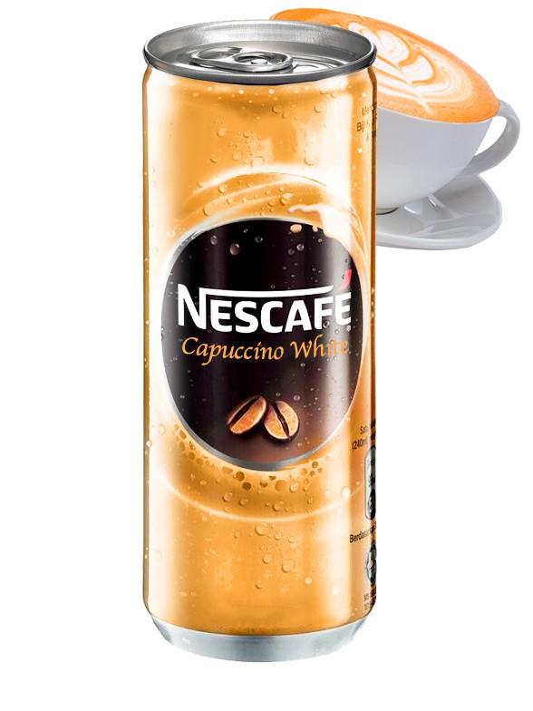 Café Capuccino White | Nescafé 250 ml.
