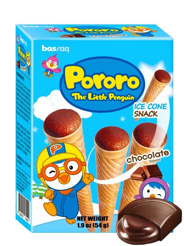 Snacks Ice Cream Chocolate | Pororo 54 grs.