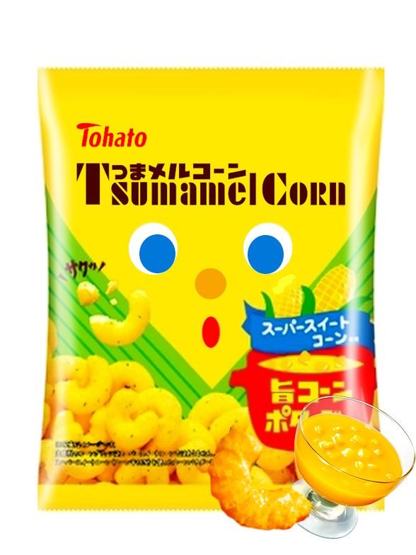 Snack Lovely Tohato Crema de Maíz | Caramel Corn 65 grs