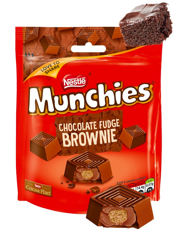 Mini Bombones rellenos de Chocolate y Brownie 101 grs.