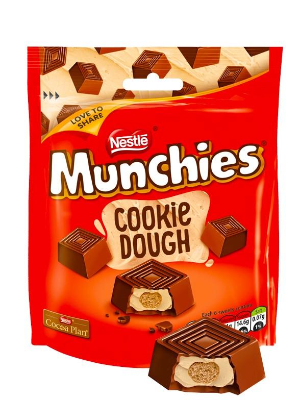 Mini Bombones rellenos de Chocolate Masa de Galleta y Cookies 101 gr.