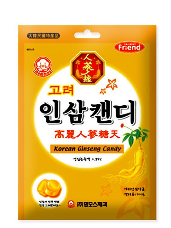 Caramelos de Ginseng Coreano | Extra Ginseng 100 grs.