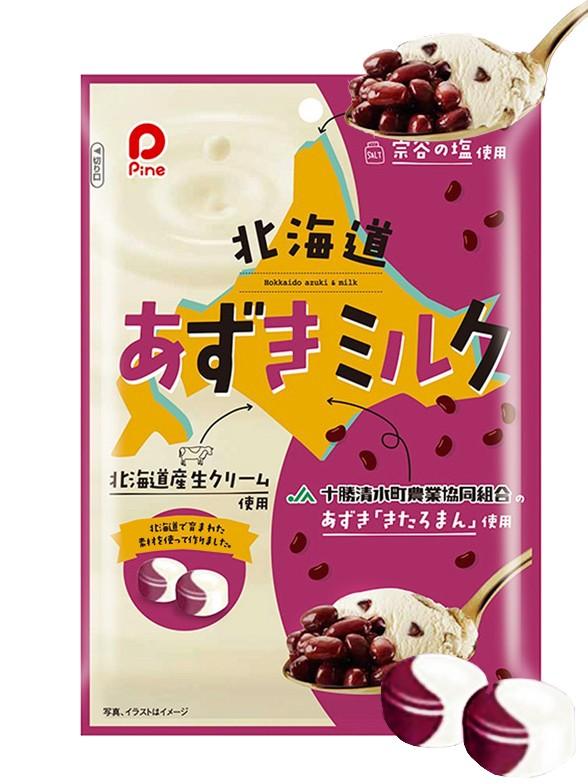 Caramelos de Azuki y Helado de Leche de Hokkaido 80 grs.