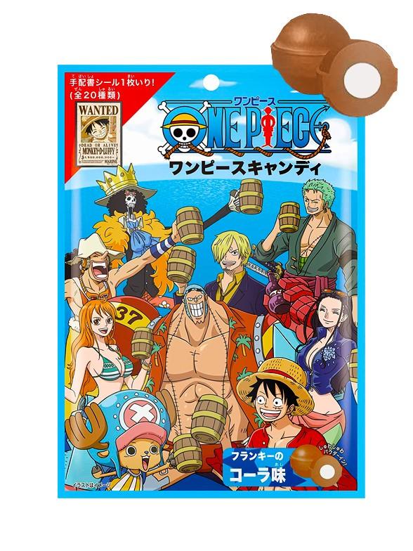 Caramelos de Refresco de Cola con Pica Pica | One Piece 70 grs.