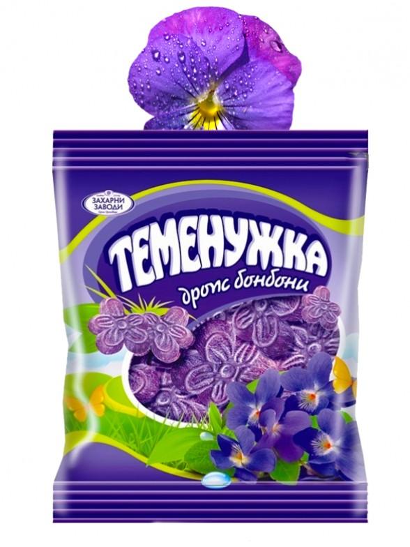 Caramelos Sabor Violeta 90grs