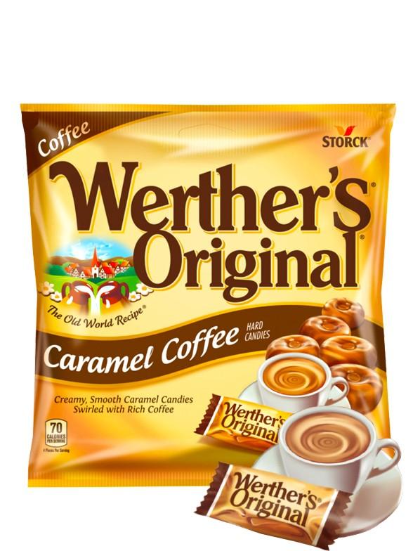 Caramelos Werther's de Café 110 grs.