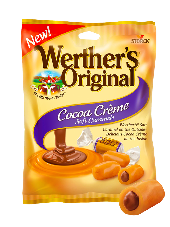 Caramelos Werther's Original Rellenos de Cacao 63 grs.