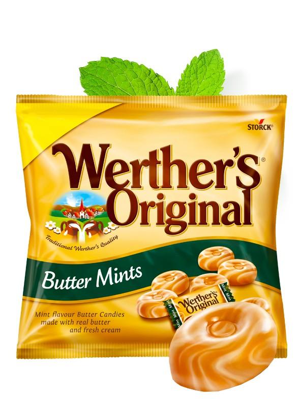 Caramelos Werther's Original de Menta 110 grs.