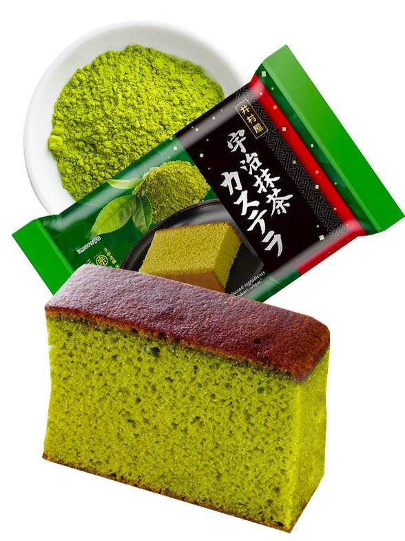 Bizcocho de Té Verde Uji Matcha y Azuki Japonés   5 Porciones