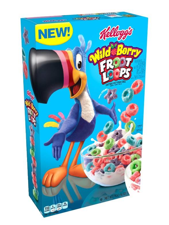 Cereales Froot Loops Frutas del Bosque 283 grs
