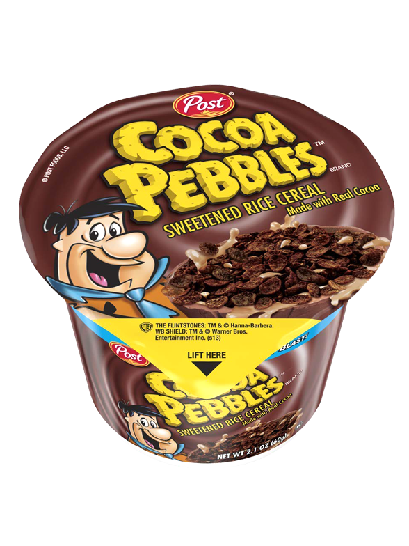 Cereales Pebbles Chocolate | Edición Cup | 60 gr | Pedido GRATIS!