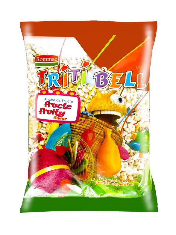 Cereales de Trigo con Sabor a Frutas 100 grs