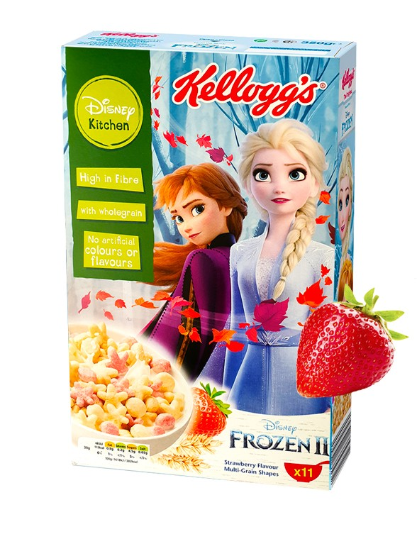 Cereales de Fresa Frozen 2   350 gr.