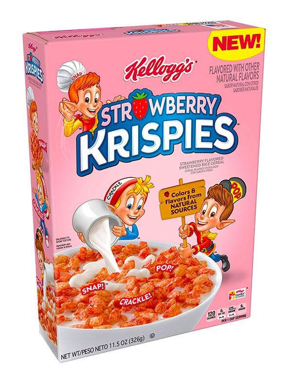 Cereales Krispies de Fresa 326 grs | USA