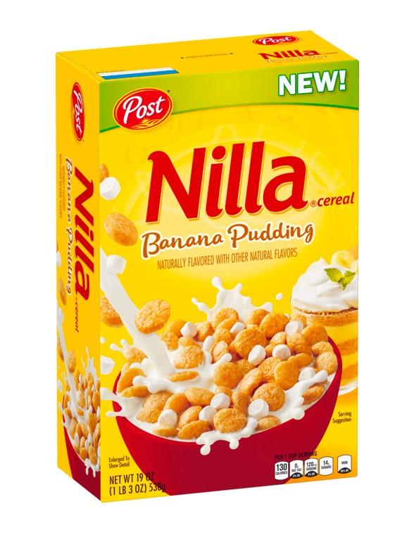 Cereales Nilla Banana Pudding | BOX 340 grs | Pedido GRATIS!