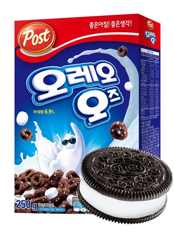 Cereales Coreanos Oreo con Marshmallows | Corean BOX 250 grs